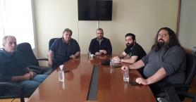 Συνάντηση με τον σύλλογο εστίασης Νομού Χανίων