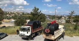 Παραχώρηση υδατοδεξαμενών σε Δήμους του Ρεθύμνου