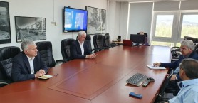 Επίσκεψη Βολουδάκη στον ΟΑΚ