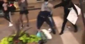 Σοκαριστικό βίντεο με ξυλοδαρμό πολίτη που προσπαθεί να σώσει την περιουσία του