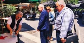 Δήμαρχος Ηρακλείου Βασίλης Λαμπρινός: «Στηρίζουμε εμπράκτως τον κλάδο της εστίασης»