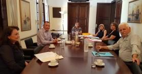 Συνάντηση Αποκεντρωμένης Διοίκησης - Δήμου Βιάννου