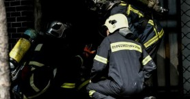 Υπό έλεγχο πυρκαγιά σε αποθήκη στο Μεταξουργείο