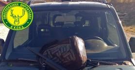 Συλλήψεις στις Στροβλές Κισσάμου για νυχτερινή θήρα λαγού (φωτο)