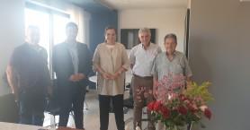 Συνάντηση Συνδέσμου Ιδιοκτητών Τουριστικών Λεωφορείων Κρήτης με την Ντόρα Μπακογιάννη