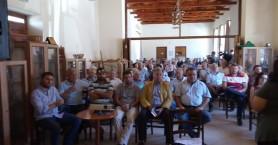 Μαζική συμμετοχή  στη λαϊκή συνέλευση της Δαμάστας