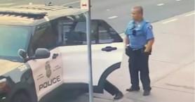 Τζορτζ Φλόιντ: Τον χτυπούσαν και μέσα στο περιπολικό (βιντεο)