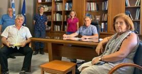 Συνάντηση Δημάρχου Ιεράπετρας με τον σύλλογο πολυτέκνων της πόλης