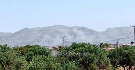 Πυρκαγιές σε Ρέθυμνο και Χανιά