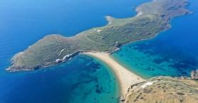 Η Κύθνος έχει τη δική της εξωτική παραλία