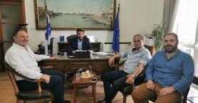 Συνάντηση Σημανδηράκη με Κουράκη στο δημαρχείο Χανίων - Τι συζήτησαν