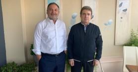 Στην Κρήτη ο Χρυσοχοίδης - Συναντήθηκε με τον Πρόεδρο της ΠΕΔ Γιάννη Κουράκη