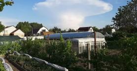 Αναστάτωση στο Κίεβο από την εμφάνιση σύννεφου με σχήμα μανιταριού