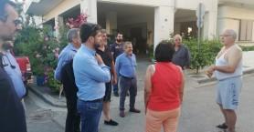 Τα Παχιανά επισκέφθηκε ο δήμαρχος Χανίων συνοδευόμενος από αντιδημάρχος