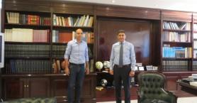 Συνάντηση Παλαιόχωρας με τον δήμαρχο Καντάνου-Σελίνου