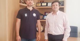 Συνάντηση Συριγωνάκη - Πρόεδρου Αθλητικής Ένωσης Αστυνομικών