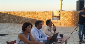 Χανιά: Προτεραιότητα στη διαχείριση κρουσμάτων του κορωνοϊού - Εσπερίδα στον Φιρκά (φωτο)