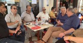 Περιοδεία σε Μοίρες, Τυμπάκι, Ζαρό πραγματοποίησαν στελέχη του ΣΥΡΙΖΑ
