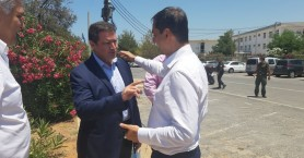 Επίσκεψη του Υπουργού Τουρισμού Χάρη Θεοχάρη στο δημαρχείο Χερσονήσου