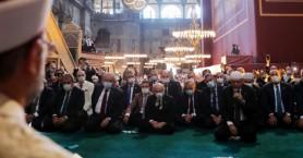 Αγιά Σοφιά: Εικόνες βεβήλωσης και προχειρότητας, μετά τη μετατροπή της σε τζαμί (βιντεο)