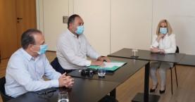 Με την Εκτελεστική Επιτροπή της ΠΕΔ Κρήτης συναντήθηκε η Φώφη Γεννηματά