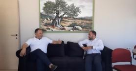 Συνάντηση Γιάννη Κουράκη με το Βουλευτή Μιλτιάδη Χατζηγιαννάκη