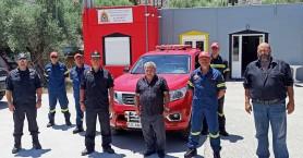 Νέο πυροσβεστικό όχημα στα Σφακιά (φωτο)