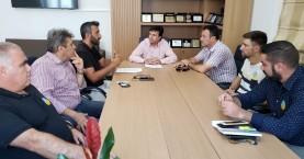 Συνάντηση Συριγωνάκη - εκπροσώπων επισιτισμού του Ηρακλείου