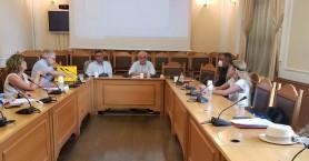 Συνάντηση Περιφερειάρχη -Δημάρχου για τα έργα στον Μυλοπόταμο