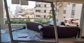 Βομβαρδισμένο τοπίο η Πρεσβεία της Κύπρου στον Λίβανο – Δείτε τις εικόνες