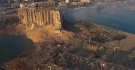Έκρηξη στη Βηρυτό: Συγκλονιστικό βίντεο δείχνει το μέγεθος της καταστροφής από ψηλά