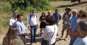 Θέματα υποδομών στην επίσκεψη του Αντιπεριφερειάρχη Ηρακλείου στο Ίνι του δήμου Μινώα
