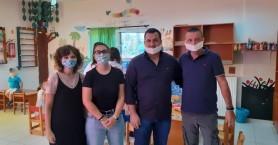 Στον αγιασμό των σχολείων του Δήμου Γόρτυνας ο Λευτέρης Κοκολάκης