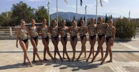 Εξαιρετική παρουσία ΝΟΧ στο πανελλήνιο καλλιτεχνικής κολύμβησης