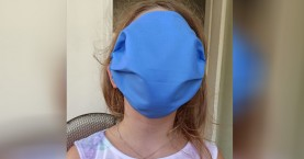Απίστευτο! Αυτές τις μάσκες μοίρασαν στα παιδιά σχολείου στην Κρήτη