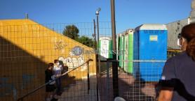 Σε καραντίνα οι 69 μετανάστες στα Χανιά – Συνελήφθη ένας διακινητής (φωτο)