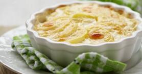 Πατάτες ογκρατέν με τυριά και κρέμα γάλακτος