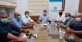 Ενημερωτική συνάντηση Περιφερειάρχη Κρήτης με αντιπροσωπεία του Σύριζα Ηρακλείου