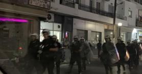 Ένταση και επεισόδια σε συγκέντρωση διαδηλωτών στο Τυμπάκι Μεσσαράς (βίντεο)