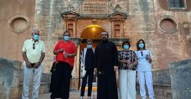Στην Αγία Τριάδα Τζαγκαρόλων Ντόρα Μπακογιάννη και Μανουέλα Βασιλάκη