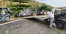 Σε επιφυλακή οι πυροσβεστικές δυνάμεις της Κρήτης - Δεκάδες οι διασώσεις πολιτών