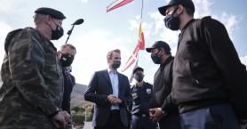 Από το υποβρύχιο Κατσώνης στο Ναύσταθμο Κρήτης το μήνυμα του πρωθυπουργού για την επέτειο