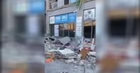 Σοκαριστικό βίντεο από από την πτώση μπαλκονιού στο Ρέθυμνο