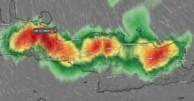 Μεγάλη προσοχή στα ορεινά της Κρήτης – Ραγδαίες βροχές για ένα 24ωρο (φωτο χάρτες)