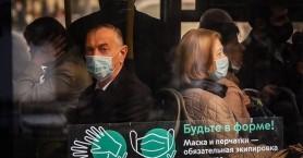 Ρωσία-Covid-19: Μόνο με μάσκα και γάντια η επιβίβαση στα μέσα συγκοινωνίας της Μόσχας