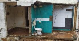 Ανυπολόγιστες ζημιές σε σπίτια στη Χερσόνησο - Έπεσαν τοίχοι! (φωτο)