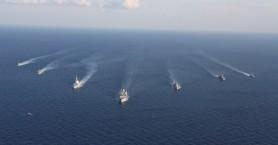 Μεγάλη άσκηση Ναυτικού, Αεροπορίας και αρμάδας του ΝΑΤΟ νότια της Κρήτης (φωτο – βίντεο)