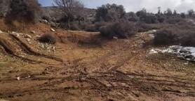 Δήμος Ανωγείων: Καταστροφές από την εκτός δρόμου οδήγηση στα οροπέδια του Ψηλορείτη (φωτο)