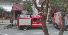 Πυρκαγιά σε κατάστημα εστίασης στο κέντρο των Χανίων (φωτο - βίντεο)
