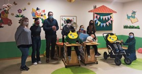 Κοπή πρωτοχρονιάτικης πίτας στον παιδικό σταθμό για παιδιά με Αναπηρία Δήμου Ρεθύμνης